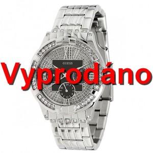 Dámské hodinky Guess Black Roman U11631L1 Swarovski
