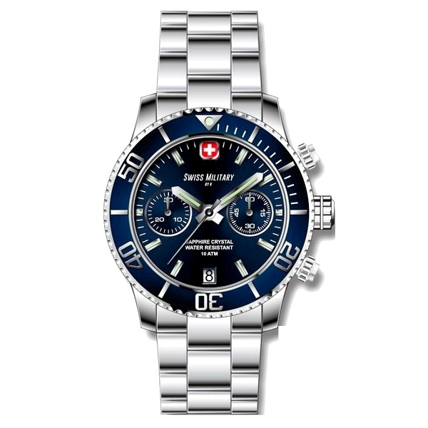 Pánské hodinky Swiss Military by R Alpha 09502 3B BU