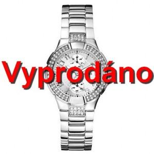 Dámské hodinky Guess Silver Prism U12003L1 Swarovski