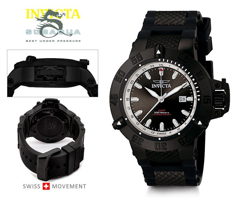 Pánské hodinky Invicta Subaqua Noma III GMT F0027