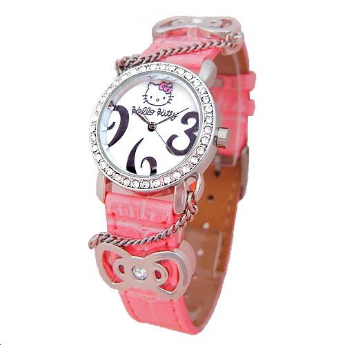 Dívčí hodinky Hello Kitty Girl FQ76 Pink