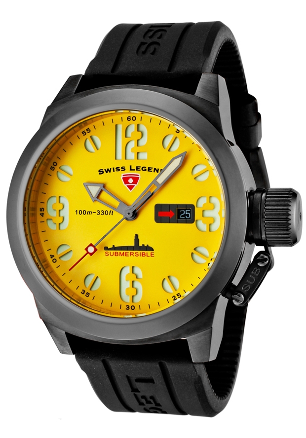 Pánské hodinky Swiss Legend Submersible 10543-GM-07